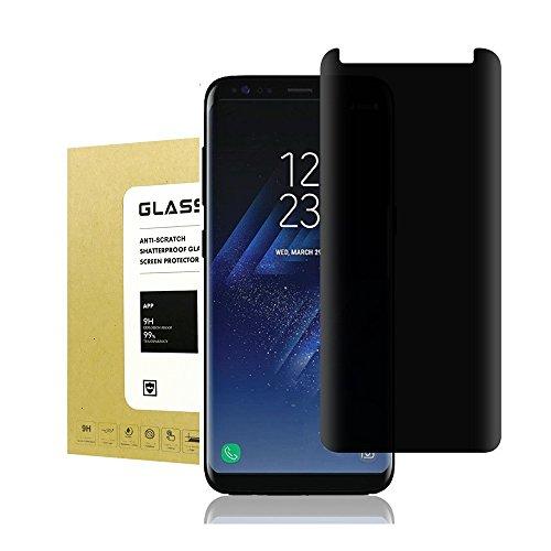 For Galaxy S8 Plus Privacy Anti Spy Anti-Glare Ballistic Tempered Glass, Jyline 9H Hardness , Anti-Scratch, Anti Shatter, Anti-Fingerprint for Screen Protector Samsung Galaxy S8 Plus