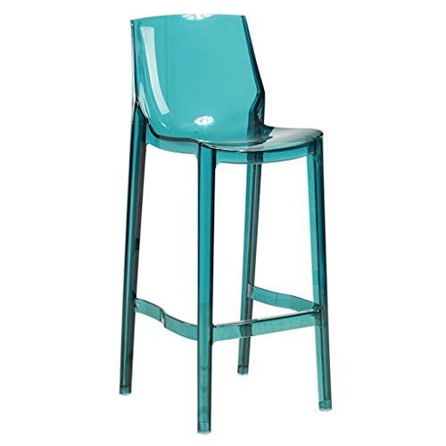 Amazon.com: KTYXDE Taburete de barra transparente, silla ...