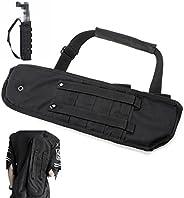 """WElinks Outdoor 19"""" Hunting Molle Tactical Pistol Grip Short Barrel Shotgun Scabbard Holster Bag Sling Sh"""