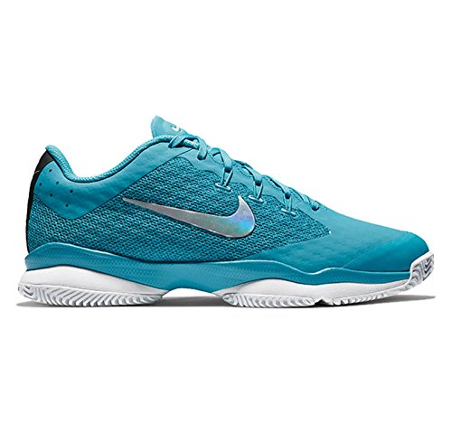 NIKE Women's Air Zoom Ultra Tennis Shoe Lt. Blue Fury/Metallic Silver/White/Black discount 2015 sale fashion Style KUIpV1fL