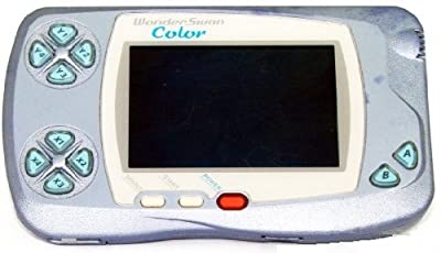 WonderSwan Color Pearl Blue Handheld Console (Japanese Import Video Game System)