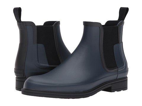 (ハンター) HUNTER メンズブーツ靴 Original Refined Chelsea [並行輸入品] B074R2S73L  Navy/Black 29.0 cm