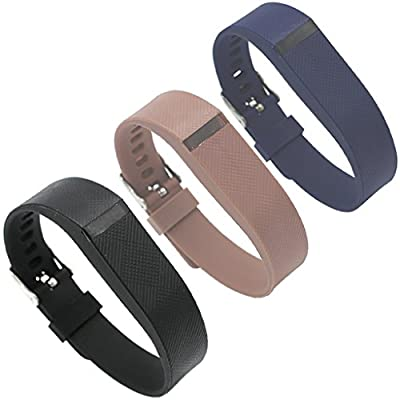 Accessory Bands for Fitbit Flex Wristbands Watchband with Fastener Buckle Fix the Tracker Fall Off Problem
