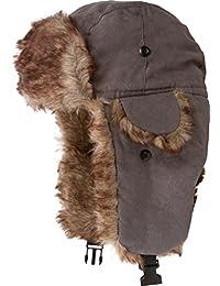 Sakkas Morgan Unisex Faux Fur Trooper Hat