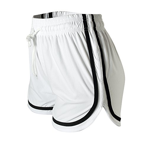 VALINNA Women's Athletic Yoga Running Workout Shorts Lounge Short (S/M (24