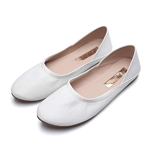 Flats Comfortable Women's Ballet Flat Slip-On Classic Ladies Round Toe Shoes