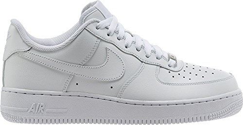 nike air forces white low top - 1