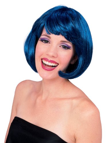 Rubie's Costume Super Model Wig, Blue, One Size