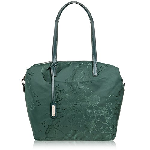 Alviero Martini 1A Classe shopping bag Nylon Map green