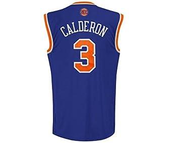 Adidas Camiseta New York Knicks 1ª -Calderón-: Amazon.es: Deportes y aire libre