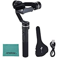 FeiyuTech SPG Newest Version 3-Axis Handheld Gimbal Phone Stabilizer for iPhone Samsung Huawei etc. for GoPro Hero 5/4/3/3+ etc.
