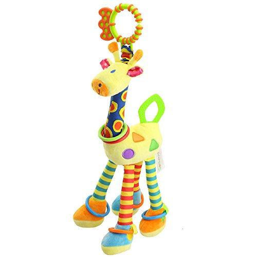 Happy Monkey Plush Giraffe Activity Teether Toys