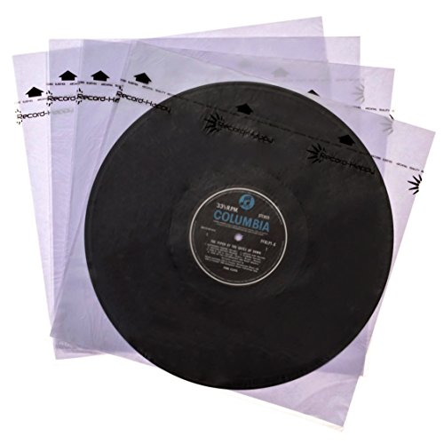 Record Inner Sleeves Anti-Static- (50Pk) Premium Protection for 12