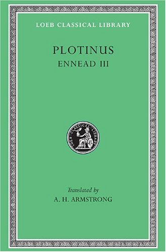 Plotinus-Volume-III-Ennead-3-Loeb-Classical-Library-No-442