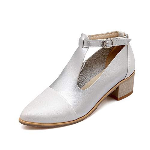 MENGLTX High Heels Sandalen Neue Ankunft Pumpt Frauen Frauen Frauen Schuhe Spitz Mode Schuhe Einfache Schnalle Lässige Damen Schuhe Quadratische Fersen Schuhe B07QKKL5S5 Sport- & Outdoorschuhe eine breite Palette von Produkten cf3465