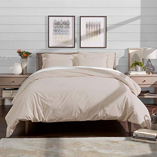 Best Review Of Bare Home Luxury 2 Piece Duvet Cover and Sham Set - Premium 1800 Ultra-Soft Brushed M...