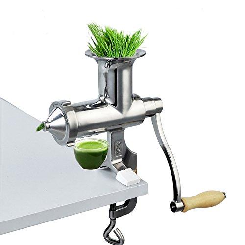 Hand Fruit Wheatgrass Manual Juicer DIY Heavy Duty Stainless Steel Juicer for Fruit Vegetable