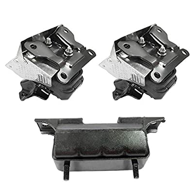 CF Advance For 07-14 Cadillac Escalade ESV EXT 6.2L 4WD Automatic Engine Motor and Transmission Mount Set 3PCS 2007 2008 2009 2010 2011 2012 2013 2014 2638 5365 5365: Automotive