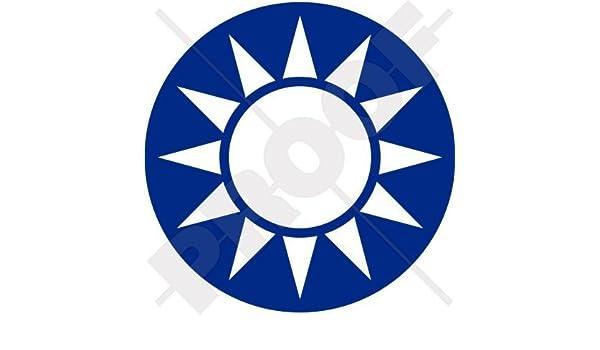 "White Sun of Taiwan ~ Vinyl Window Laptop Decal Bumper Sticker 4/"""