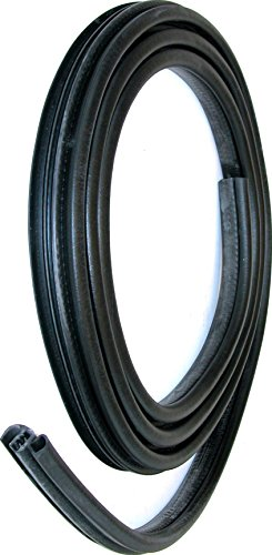 (APDTY 140438 Rubber Weatherstrip Door Seal Fits 1996-1999 Ford E150 E250 E350 E450 Econoline Van Front Left or Front Right (Replaces F2UZ1520708A, F2UZ-1520709-A))
