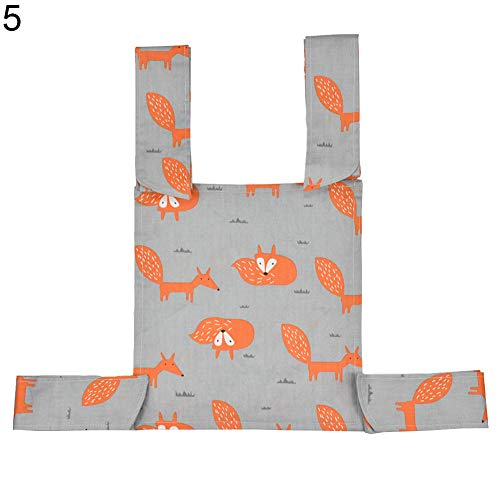 - HsgbvictS Doll Carrier Baby Toys Lovely Star Wave Pattern Cotton Mei Tai Sling Backpack Front Back Doll Carrier - 5#