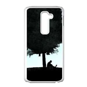 LG G2 Cell Phone Case White vector Art K7X2X