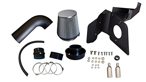 R&L Racing AF Dynamic Black Air Filter Intake Systems + Heat Shield 2011-2018 for Ford Taurus SHO 3.5L - Sho Taurus Ford New