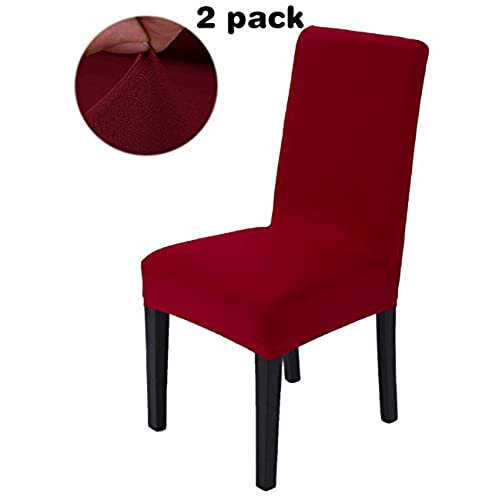 Bon ANJUREN Stretch Chair Slipcovers Polyester Spandex Solid Covers Removable  Furniture Chair Protector Cover For Dining Room Hotel Banquet Wedding Party  ...