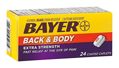 Bayer Back & Body Extra Strength Aspirin (Pack of 10) by Generic