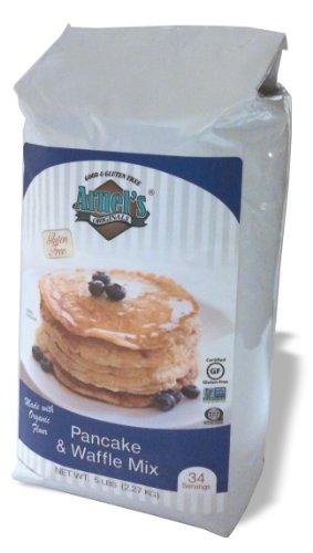 Pancake & Waffle Mix, Gluten Free & Organic, Verified Non-GMO by Arnel's Original, 5 - Lb Pancake 5