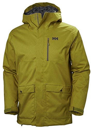 Helly Hansen 65601 Men's Park City Jacket, Fir Green - XL