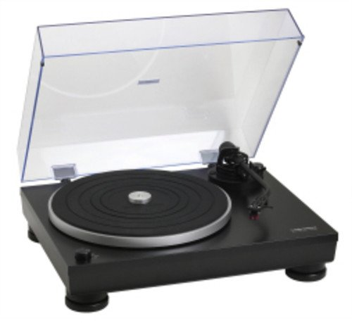 Audio-Technica AT-LP5 Direct-Drive Turntable, Black