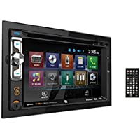 Dual XDVD256BT Digital Multimedia 6.2 LED Backlit LCD Touchscreen Double DIN Car Stereo with Built-In Bluetooth, CD/DVD, USB, micro SD & MP3 Player