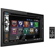 """Dual Electronics XDVD256BT Digital Multimedia 6.2"""" LED Backlit LCD Touchscreen Double DIN Car Stereo with Built-In Bluetooth, CD/DVD, USB, micro SD & MP3 Player"""
