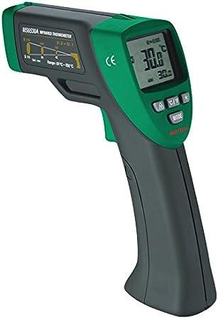 ms6530a sin contacto termómetro de infrarrojos IR Temperatura pistola con puntero láser probador -20C ~ 850C D: S (12: 1)