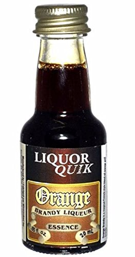 Grape Brandy - Orange Brandy Liquor Quik Essence 20ml