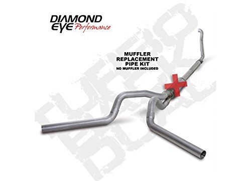 Diamond Eye K4309A-RP Turbo-Back Exhaust Kit (Diamond Eye 4' Exhaust)