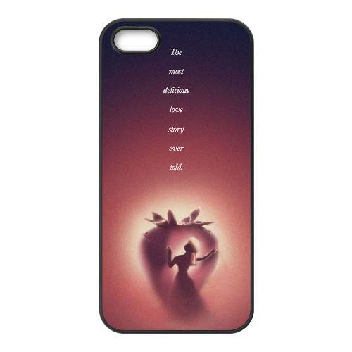 Q7H38 Disney Beauty and the Beast L8K8FT coque iPhone 5 5s cellulaire cas de téléphone couvercle coque noire WU2TCO6UP