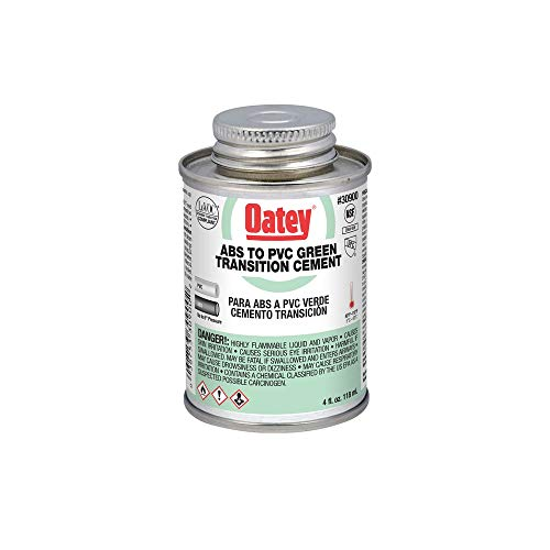 Oatey 30900 Hydraulic Cements, 4 oz, Green