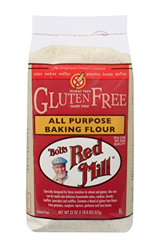 Gluten Free All Purpose Baking Flour - Bob's Red Mill Gluten Free All Purpose Baking Flour, 22-ounce
