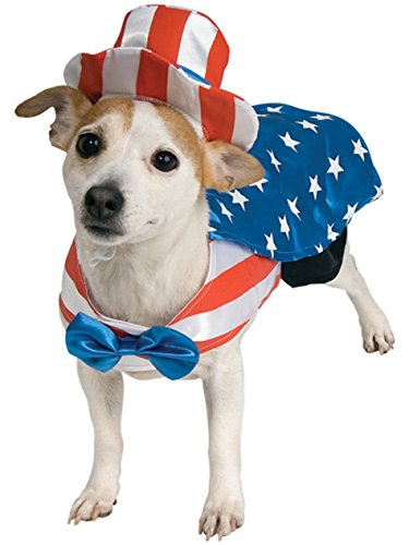 Rubie's Uncle Sam Pet Costume, Small]()