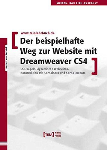 Der beispielhafte Weg zur Website mit Dreamweaver CS4