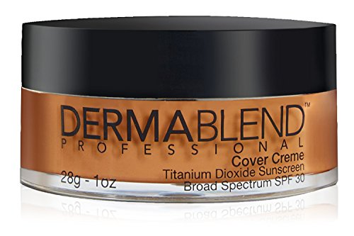 Dermablend Cover Creme High Coverage Foundation with SPF 30, 65W Golden Bronze, 1 Oz.