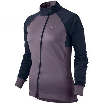 9dbebbabf8be Nike Women s Element Thermal Full Zip Running Jacket AW12  Dark  Plum Obsidian