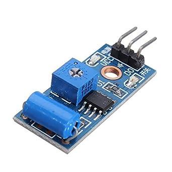 oem vibration sensor module alarm motion sensor module vibration
