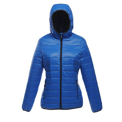 Oxford Womens Professional Acadia Hooded Bleu Jacket Ladies Insulated Regatta Coat nBgx5aznw