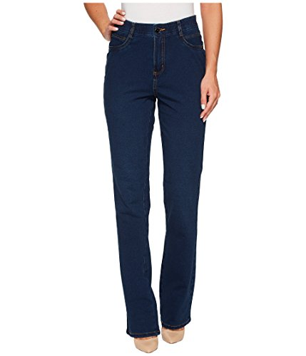 FDJ French Dressing Jeans Women's Comfy Denim Wonderwaist Peggy Bootcut in Indigo Indigo 8 33 ()