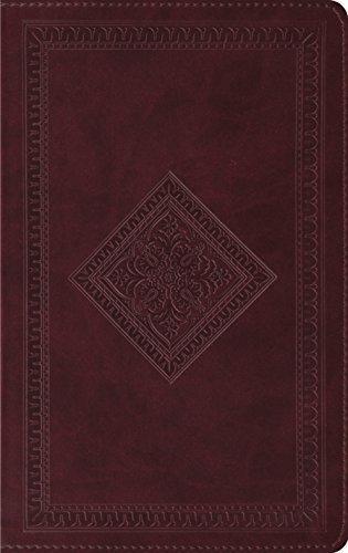 ESV Thinline Bible (TruTone, Chestnut, Diamond Design) by ESV Bibles by Crossway (2007-07-19) (Trutone Design Esv Diamond Bible)