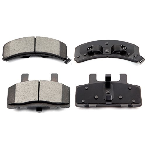 Chevy Metal Front Brake Pad - Disc Brake Pad Set,ECCPP 4pcs Front Ceramic Brake Pads Kit for Cadillac Escalade Chevy C1500 Suburban C2500 Express Suburban K2500 Tahoe Dodge Ram 1500 GMC C1500 Suburban C2500 Suburban K2500 Savana