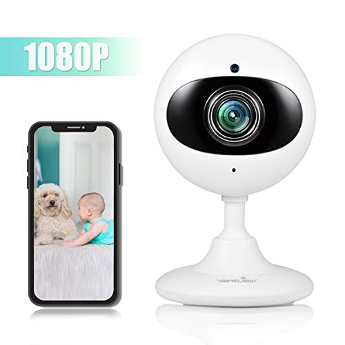 - Wansview Wireless Security Camera, 1080P Home WiFi Surveillance Indoor IP Camera for Baby/Elder/Pet/Nanny Monitor with Night Vision and Two-Way Audio-K3 (White)